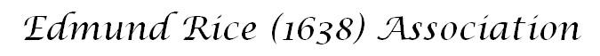 Edmund Rice (1638) Association